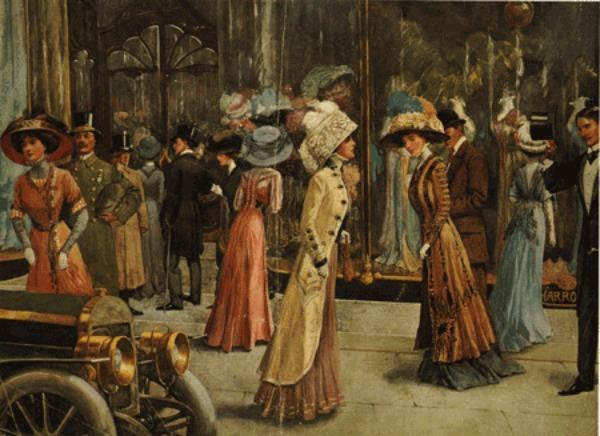 slika 158 Istorija mode: 1900 1910. godine