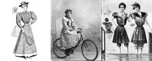slika 243 Istorija mode: 1890 1900.