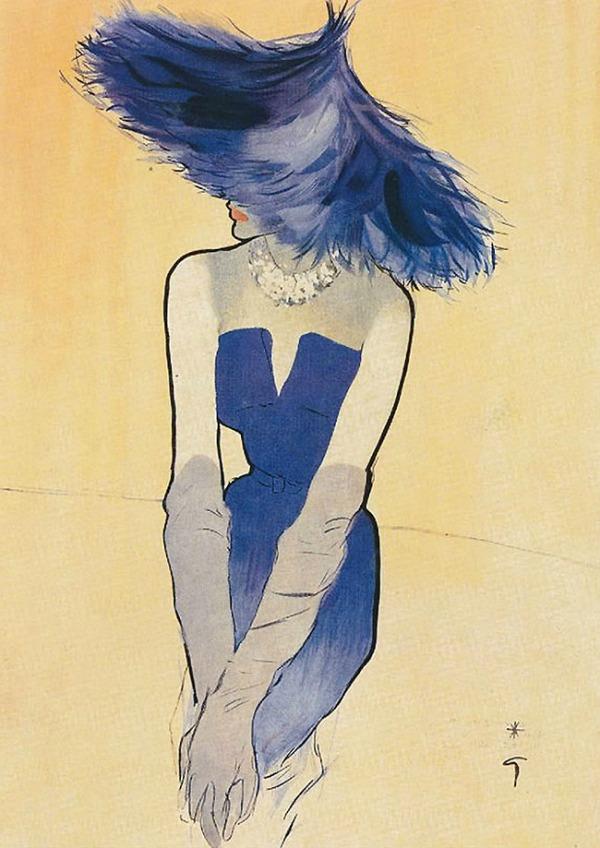 slika 249 Začetnik modne ilustracije: René Gruau