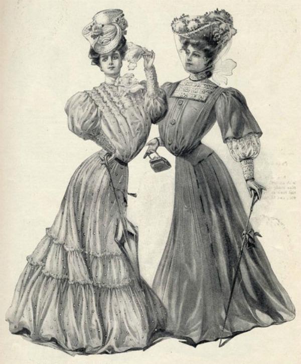 slika 260 Istorija mode: 1900 1910. godine