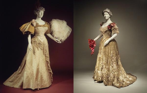 slika 335 Istorija mode: 1890 1900.
