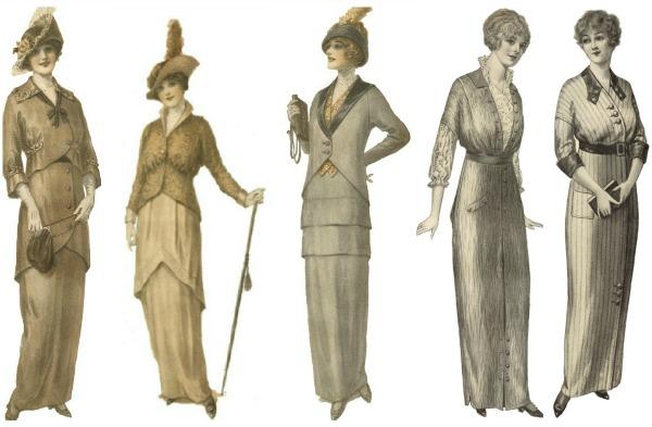 slika 346 Istorija mode: 1900 1910. godine