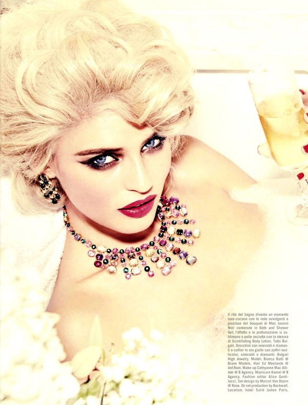 slika 425 Vogue Italia: Bianca Balti u duhu starog Holivuda