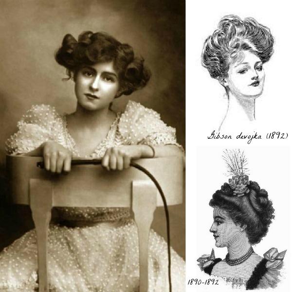slika 524 Istorija mode: 1890 1900.