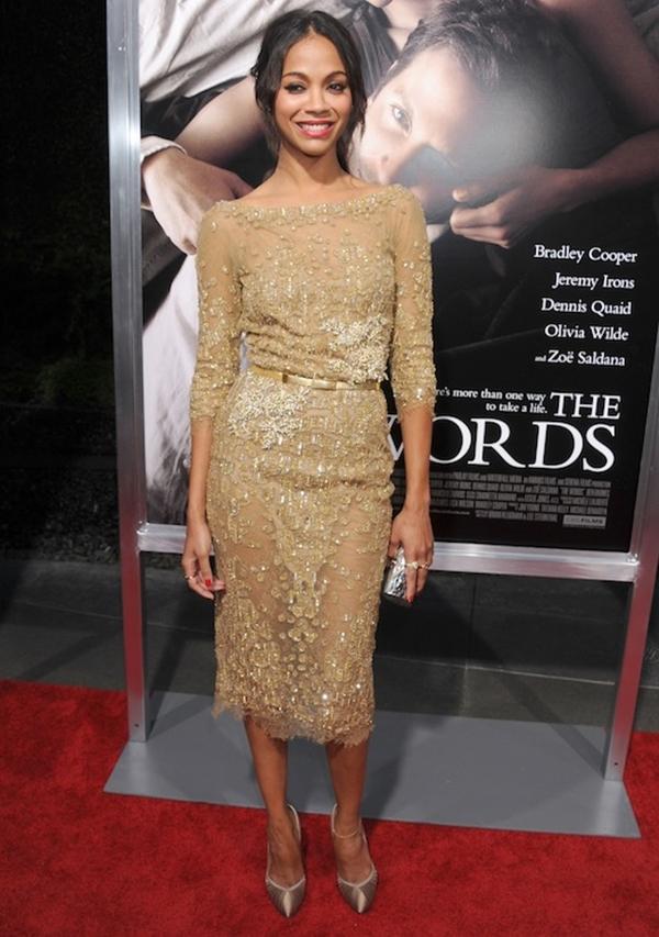 slika 96 10 haljina: Zoe Saldana