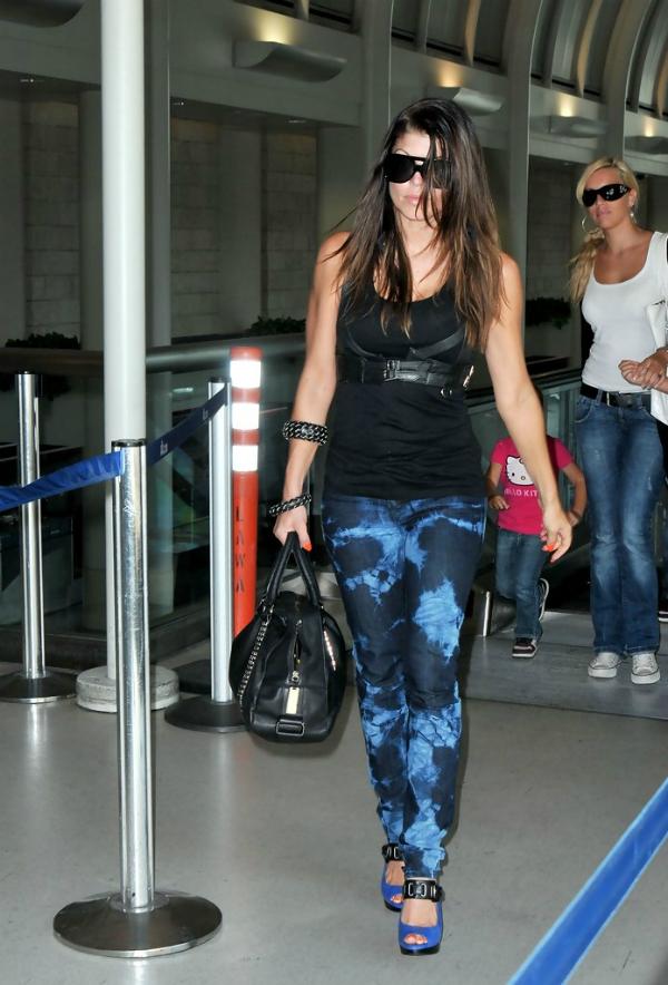 slika 97 10 odevnih kombinacija: Fergie
