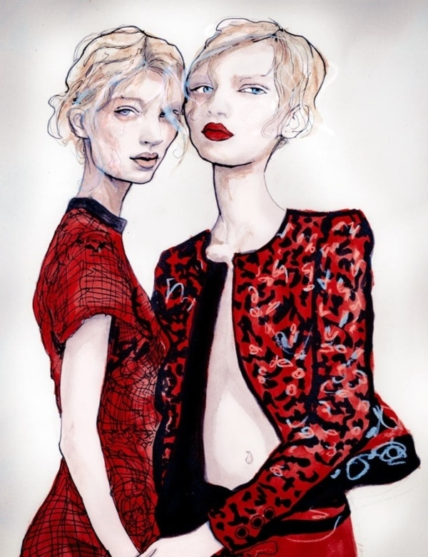 slika318 Sedam najboljih modnih ilustracija