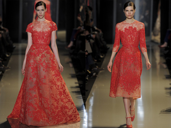slika4 Proleće i leto na modnim pistama: Elie Saab