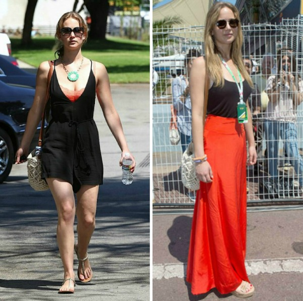 slika58 Street Style: Jennifer Lawrence