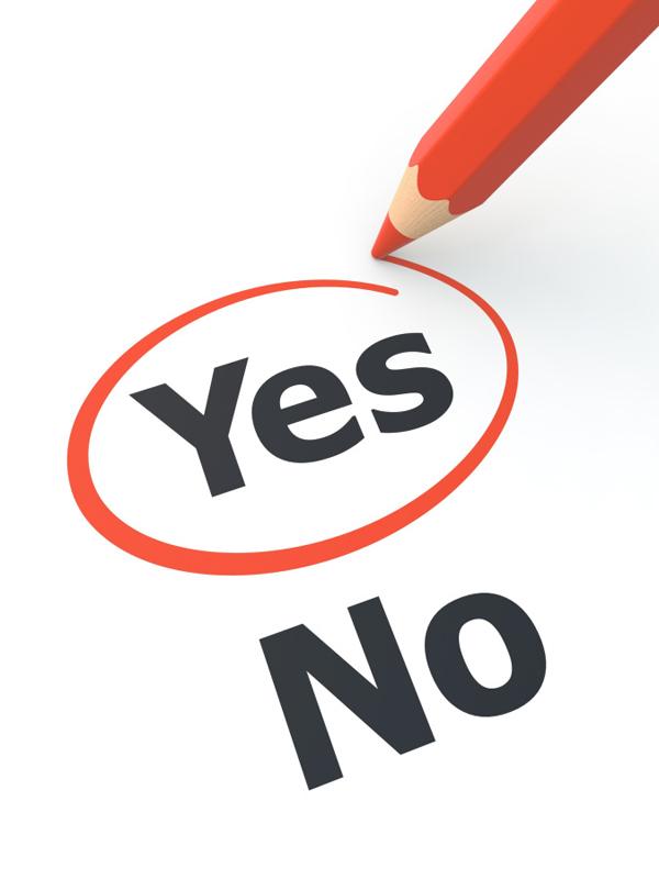 "yes no Wannabe motivator: Izbaci ""ne"" iz upotrebe"