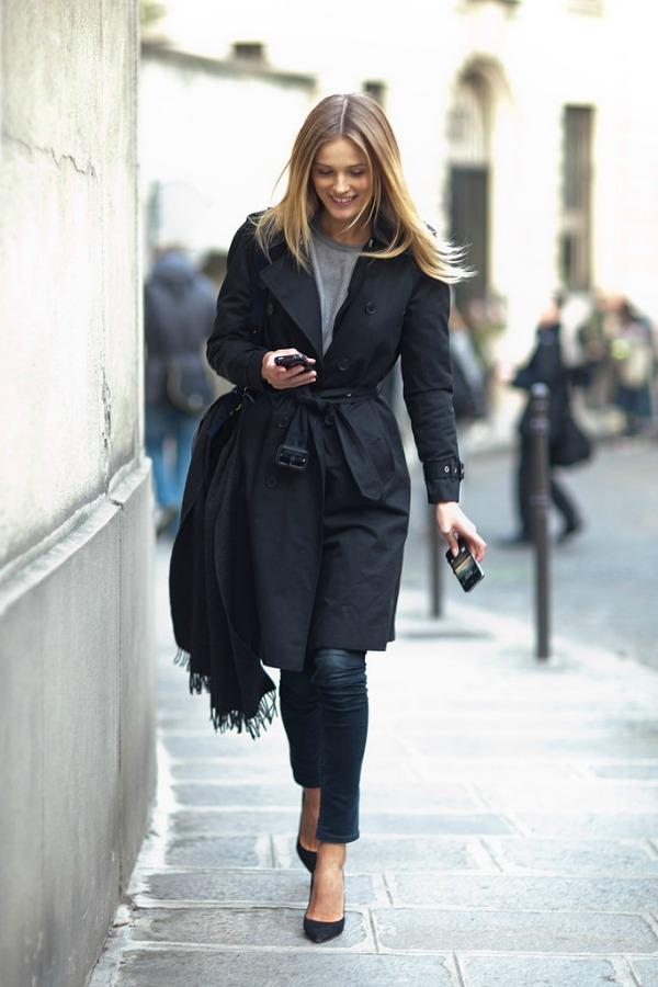 Čista klasika Moda na ulicama Pariza