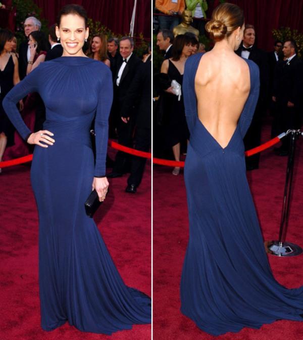 1 6 10 haljina: Hilary Swank