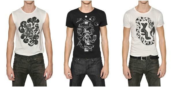 11 Modni zalogaj: Grimes dizajnirala muške majice za Saint Laurent Paris