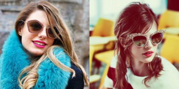 3 Blješteće naočare Trend 2013: Upadljive naočare za sunce