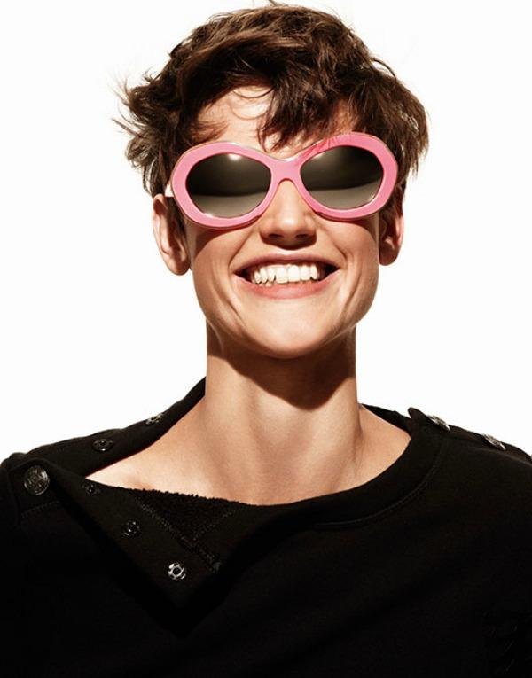 4 Naočare sa roze okvirom Trend 2013: Upadljive naočare za sunce