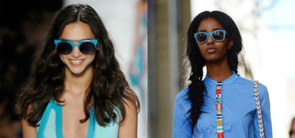 5 Plave naočare Trend 2013: Upadljive naočare za sunce