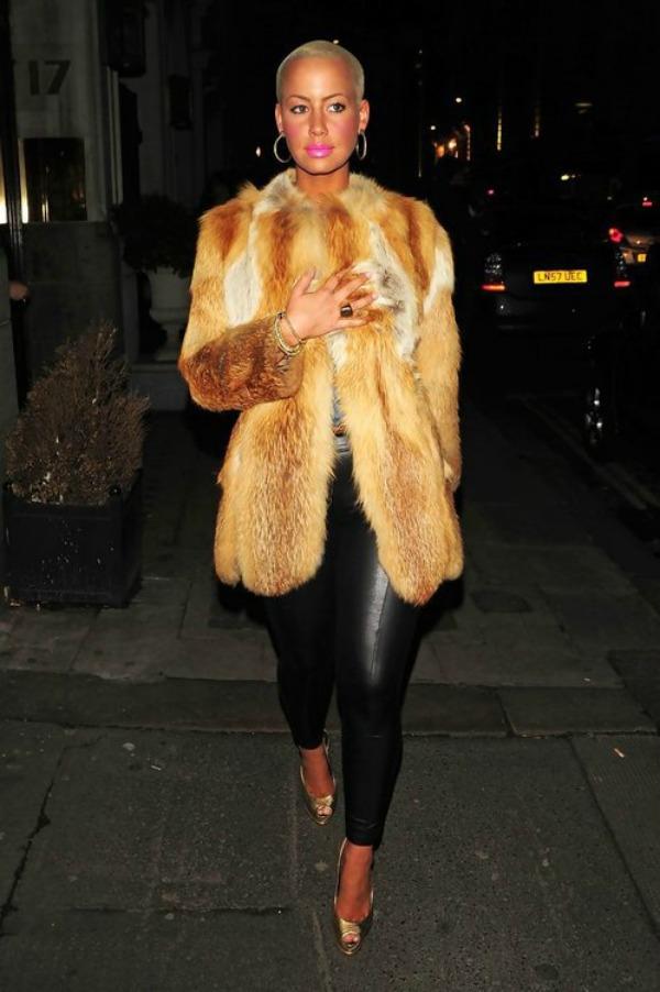 Amber u bundi 5 Street Style: Amber Rose