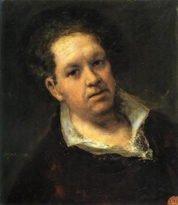 Autoportret Fransiska Goje Srećan rođendan, Francisco Goya!