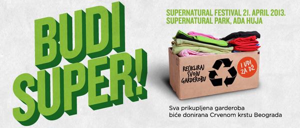 Budi super sajt1 Sedmi Supernatural festival: Budi super!