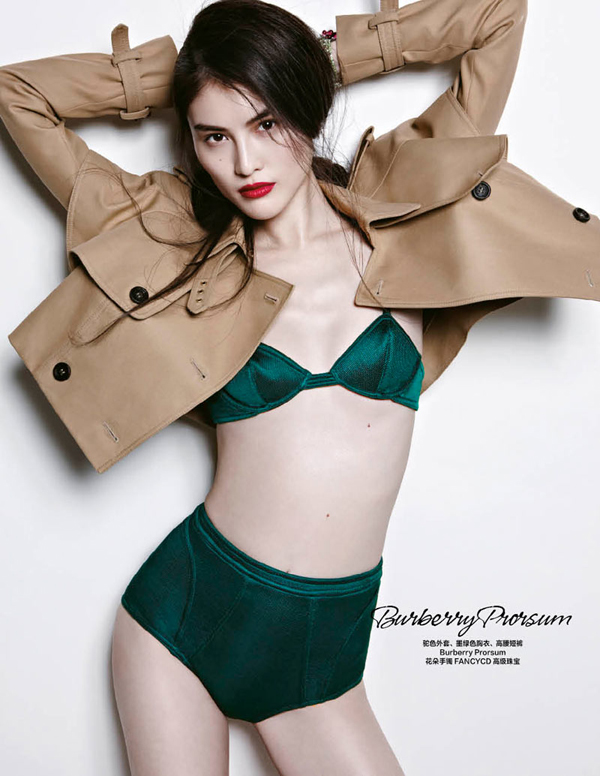 "Burberry Prosum ""Harper's Bazaar China"": Prolećne kolekcije"