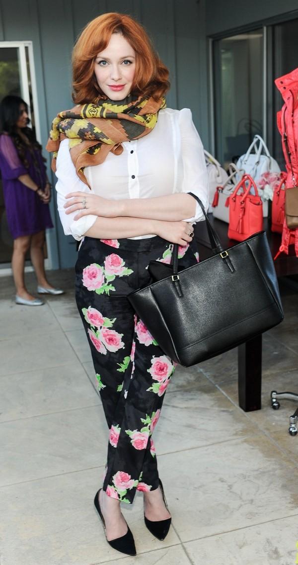 Christina Hendricks Celebrity stil dana: Christina Hendricks
