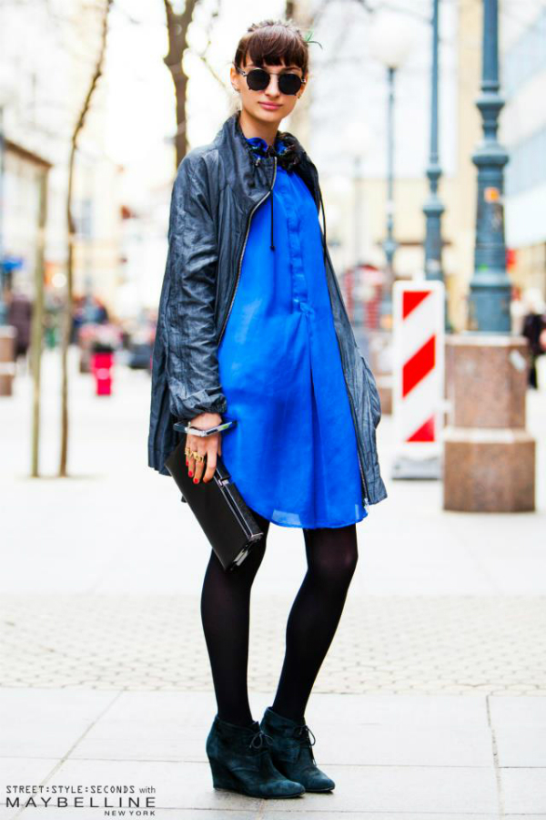 Devojka u plavom Street Style: Na ulicama urbanog Zagreba