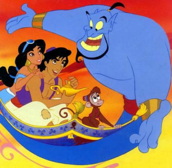 Družina na okupu Aladin: Svako ima pravo na svog dobrog duha iz čarobne lampe