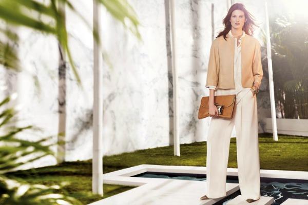 Elegantno i smelo Uterque: Elegantni spoj bele i bež