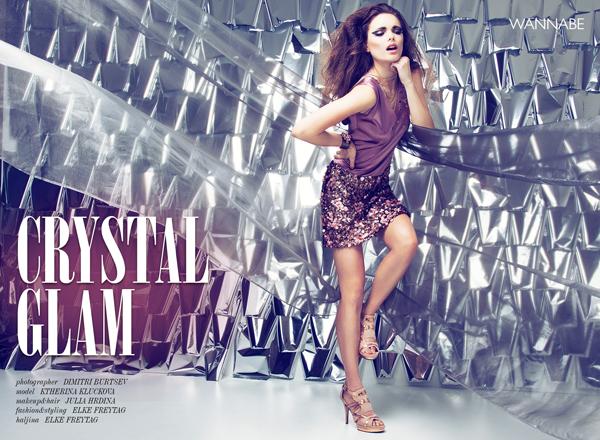 Elke 1 Wannabe editorijal: Crystal Glam