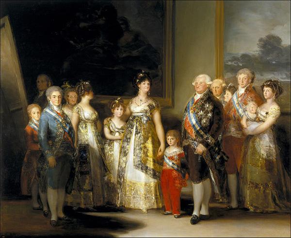 Goja Kralj Karlo IV sa porodicom Srećan rođendan, Francisco Goya!