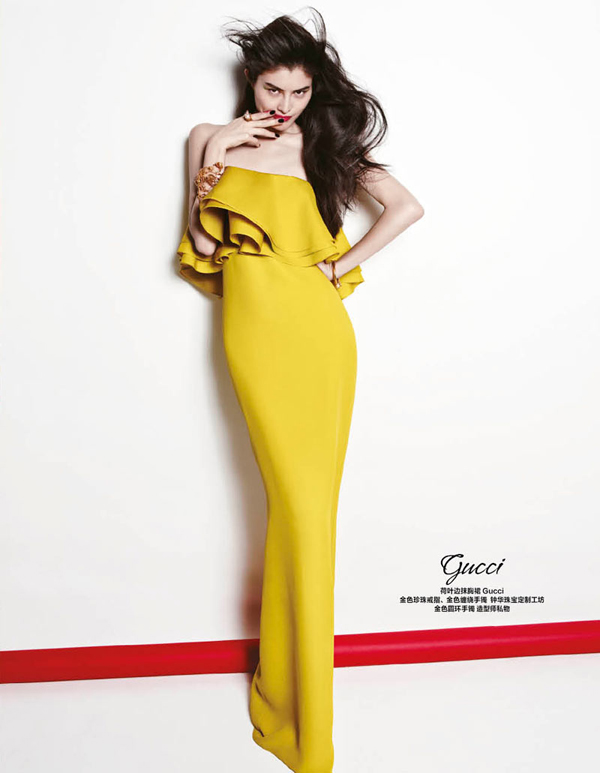 """Gucci """"Harper's Bazaar China"""": Prolećne kolekcije"""