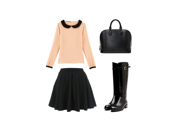 Look of the day 1 Look of the Day: Moderna na poslu