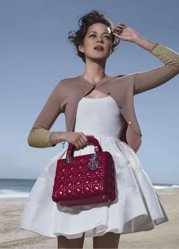 Mala bijela haljinica Lady Dior: Modna idila
