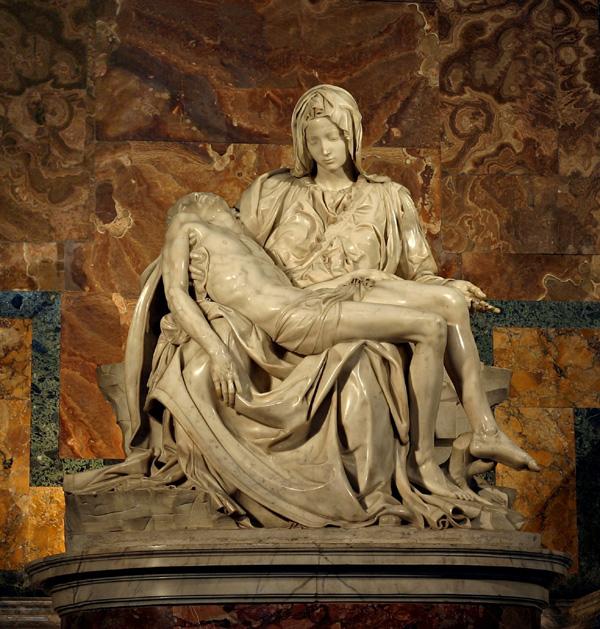 Michelangelo SLIKA 3 Pieta Srećan rođendan, Michelangelo Buonarroti!