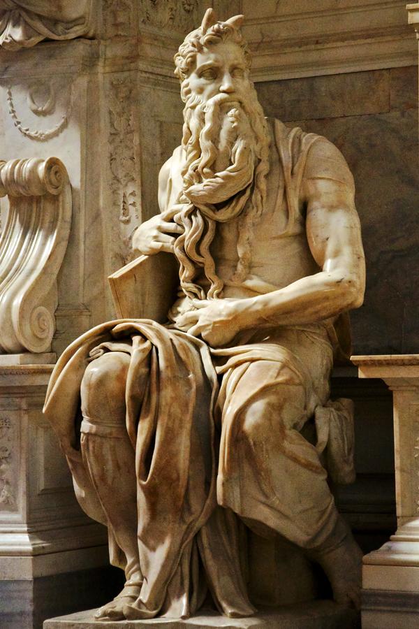 Michelangelo SLIKA 4 Mojsije Srećan rođendan, Michelangelo Buonarroti!