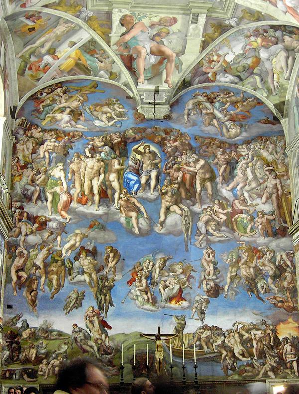 Michelangelo SLIKA 6 Strashni sud Srećan rođendan, Michelangelo Buonarroti!