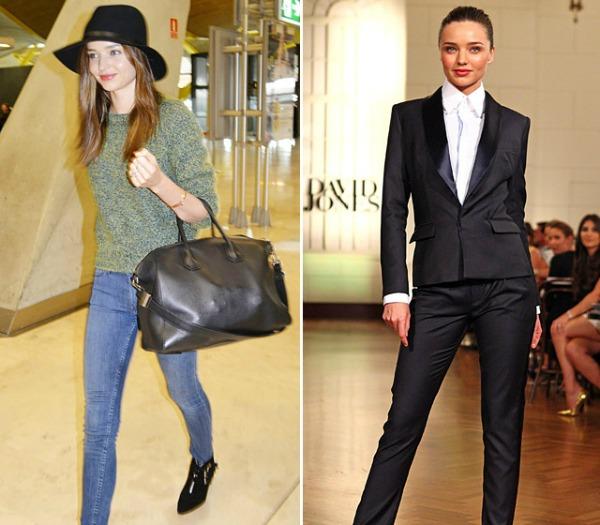 Miranda Ker Modeli na pistama i u stvarnom životu