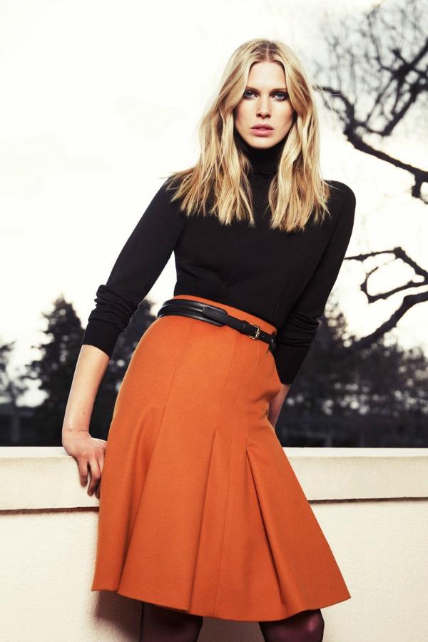 Ovakvu suknju upotpunite kaišem koji će vam istaći struk Escada: Prepoznatljiva elegancija