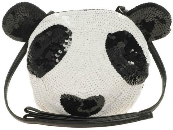 Panda kao motiv crno belo kao must have Neodoljive ručne torbice