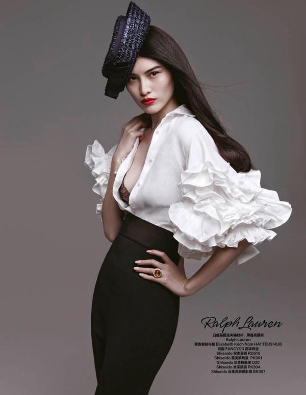 "Ralph Lauren ""Harper's Bazaar China"": Prolećne kolekcije"