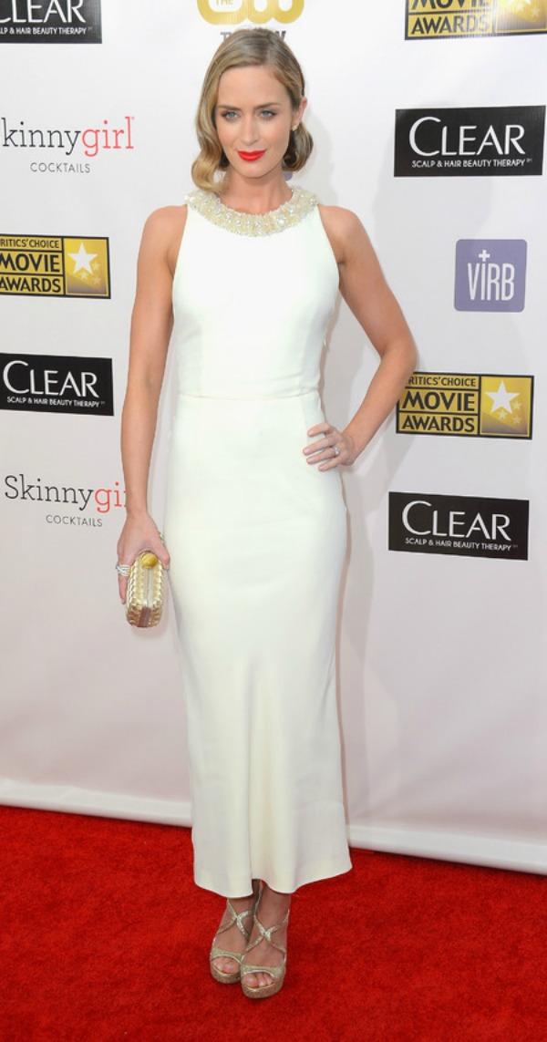 SLIKA 101 Trend sa crvenog tepiha: Bele haljine
