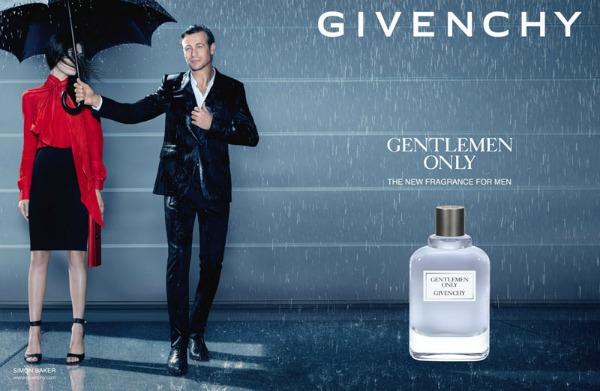 Simon je u reklamnoj kampanji pravi džentlmen Modni zalogaj: Novi muški parfem brenda Givenchy