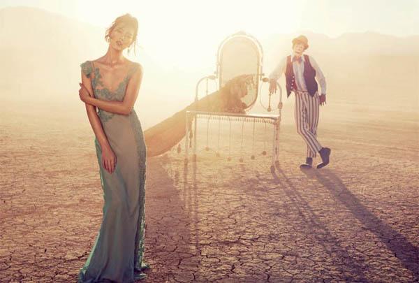 """Slika 146 """"Vogue Australia"""": Putovanje sa cirkusom"""