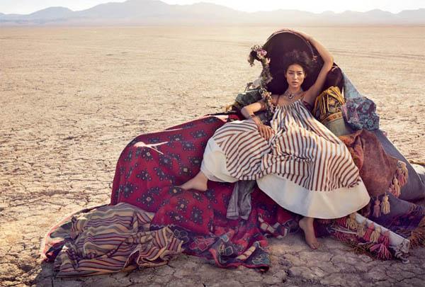 """Slika 223 """"Vogue Australia"""": Putovanje sa cirkusom"""
