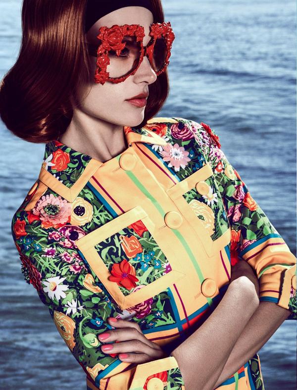 """Slika 311 """"Vogue Brasil"""": Retro Kalifornija"""