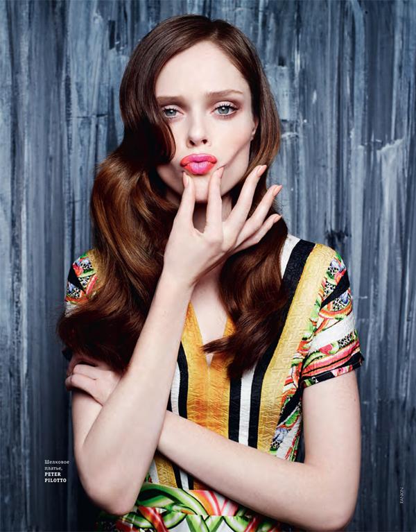 """Slika 320 """"Elle Ukraine"""": Coco Rocha koju volimo"""