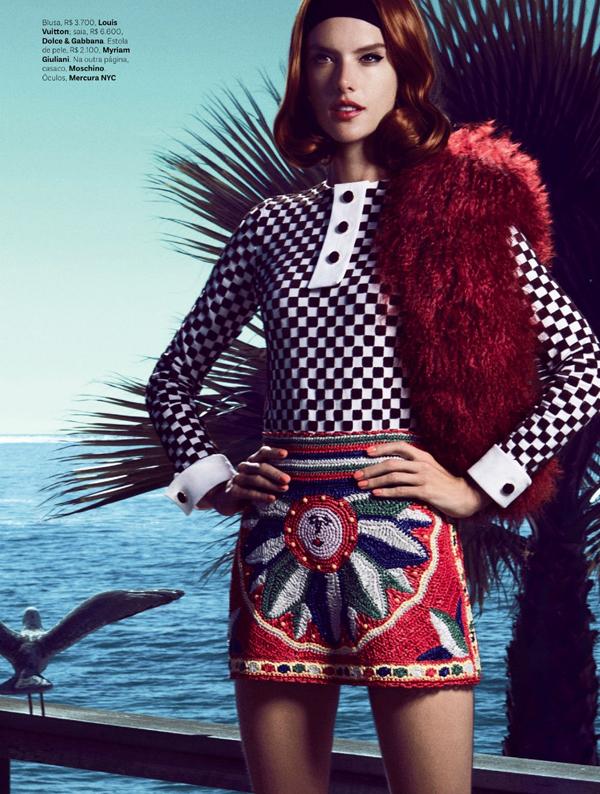 """Slika 49 """"Vogue Brasil"""": Retro Kalifornija"""