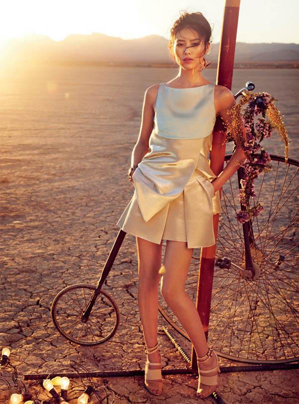 """Slika 59 """"Vogue Australia"""": Putovanje sa cirkusom"""