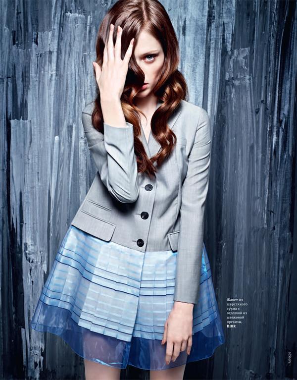 """Slika 614 """"Elle Ukraine"""": Coco Rocha koju volimo"""