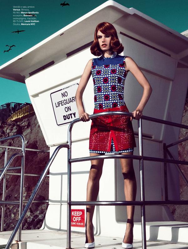 """Slika 65 """"Vogue Brasil"""": Retro Kalifornija"""